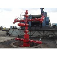 Buy cheap Oil Well Christmas Tree Equipment , Gas Production / Oilfield Christmas Tree API 6A from wholesalers