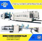 Buy cheap Automatic Paperboard Printer Slotter Die Cutter  Folder Gluer Bundling Machine from wholesalers
