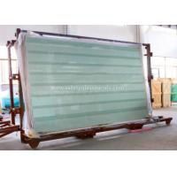 Buy cheap Clear / Tint Laminated Tempered Safety Glass , Solid tempered window glass from Wholesalers