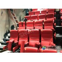 Buy cheap Immersive 4D Cinema Equipment With Electric System And Customized Seats Number product