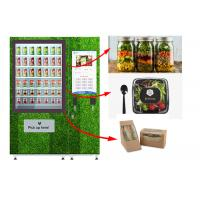 Buy cheap Touch Screen Refrigerated Salad Vending Machine , Healthy Food Vending Locker With Lift from wholesalers