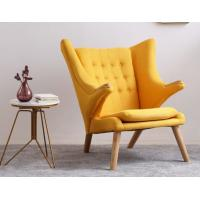 Buy cheap New design furniture fabric Hans Wegner teddy bear chair Soft comfortable lounge from wholesalers