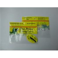 Printed Fishing Bait Soft Plastic Storage Bags With Clear Window And Foil Zipper