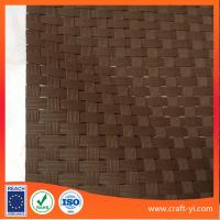 Buy cheap Brown 8X8 Textilene mesh weave fabric dull polish PVC coated mesh fabric from wholesalers