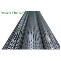 Buy cheap Exhausted Filter Core PPerforated Metal Tubing Stainless Steel , Straight Welding Seam from wholesalers