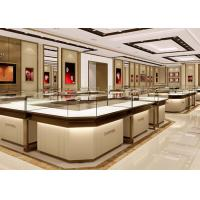 Buy cheap Stable Structure Showroom Display Cases Easy Install For Jewelry Retail Store from wholesalers