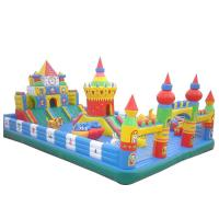 Buy cheap Customized Inflatable Garden Bouncy Castle Playground , Indoor Princess Combo Bounce House from wholesalers