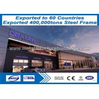 Buy cheap Lightweight Steel Frame Construction Prefab Buildings Nz Long - Span from wholesalers
