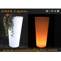 Buy cheap Garden Outdoor Lighting Illuminated Flower Pots / Flower Vase from wholesalers