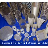 Buy cheap Aluminum Wire Mesh Perforated Metal Pipe of Lube Oil Filter Elements from wholesalers