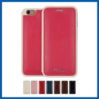Buy cheap iPhone 6s Plus Leather Mobile Phone Belt Cases With 1 Card Slot Red from wholesalers