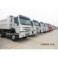 Buy cheap HOWO chinese strong mine dump truck 336hp 6x4 / 8x4 with Q345 Steel cargo body from wholesalers