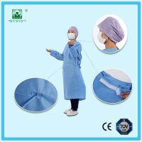 Buy cheap Disposable Medical Sterile SMS Nonwoven Surgical Gown from wholesalers