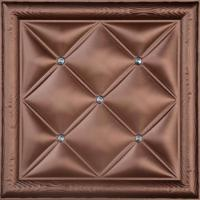 Buy cheap Environmental 3D Leather Wall Panels PU Leather + Polyurethane + PVC Board Material product