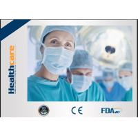 Buy cheap Elastic Cuff Non Woven Disposable Protective Gowns Hospital Isolation Gown Single Use from wholesalers