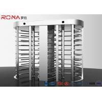 Buy cheap Electronic Full Height Turnstile Security Entrance 30 Persons / Min Pass Speed product