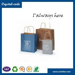 Buy cheap Fashion style kraft brown paper bag,food kraft paper bag,die cut handle paper bag from wholesalers