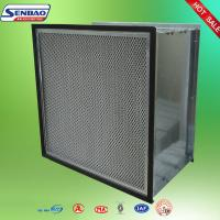 Buy cheap Dust Holding Capacity Multilayer Synthetic Pocket Air Filter Material , Disposable from wholesalers