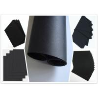 Buy cheap Smooth Surface Two Side Coated Black Paper On A Roll For Shopping Bag 787 mm Width product