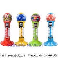Buy cheap Tabletop Desktop Mini Coin Operated Gumball Capsule Toy Vending Machine from wholesalers