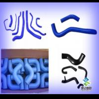 Buy cheap automotive high temperature intercooler inlet  hump silicone hose  custom by sample from wholesalers