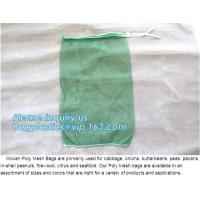 Buy cheap Hot sale 25kg 30kg Raschel knitted mesh produce bags for onions,garlic raschel mesh bag for fruits and vegetables net ba from wholesalers