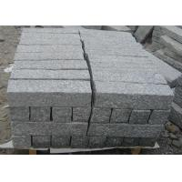 Buy cheap Light Grey Parking Lot Curb Stones , Garden Kerb Stones For Driveways product