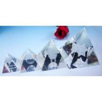 Buy cheap Laser-Engraved Crystal Pyramid (JC4333CL) from wholesalers