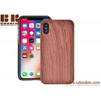 Buy cheap Wooden cover Mobile Shell accessories blank wood phone case for Iphone X from wholesalers
