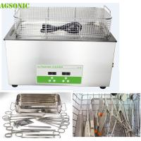 Buy cheap 30 Liter Lab Benchtop Ultrasonic Cleaner For Mobile Surgical Instrument Repair from wholesalers