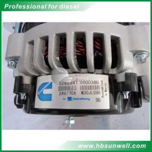 Buy cheap High Rpm Low Rpm Generator Alternator 5282841 QSX15 24V 70A High Power product