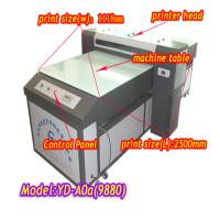 Buy cheap YD-9880C uv wide format inkjet printer for glass from wholesalers