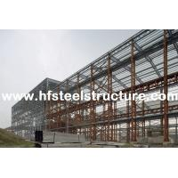 Buy cheap Custom Structural Industrial Steel Buildings For Workshop, Warehouse And Storage from wholesalers