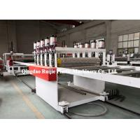 Buy cheap Durable PP Hollow Sheet Extrusion Line Building Construction Formwork Application from wholesalers