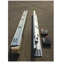 Buy cheap Bottom Mounted Undermount Soft Close Drawer Slides Auto Closing from wholesalers