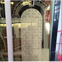 Buy cheap Project Qatar Mirror Etched  Gold Elevator Door Cabin Adhesive Stainless Steel Sheet For Architecture from wholesalers