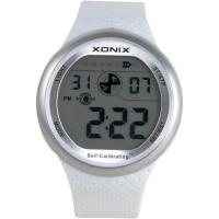 Buy cheap White Digital Self Calibrating Watches With PU Wristband Dual Time from wholesalers