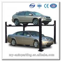 Buy cheap Electric Four Post Parking Hydraulic Auto Lift , 220V Scissor Lift Table from wholesalers