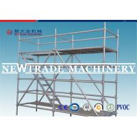 Buy cheap Building Construction Ring Lock Scaffolding , Mobile Tower Scaffold from wholesalers