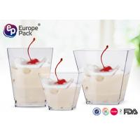 Buy cheap Disposable Plastic Dessert Cup Mini Party Use Ps Clear Transparent from wholesalers