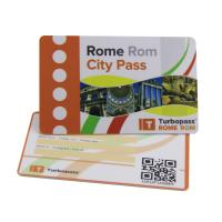 Buy cheap Offset Printing Hard Plastic Custom Gift Cards 85.5×54mm QR Code CR80 from wholesalers