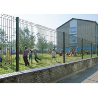 Buy cheap Powder Coated Residential Security Fence , Garden Curved Welded Mesh Fence Panels from wholesalers