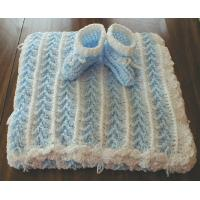 Buy cheap plush fabric embroidery baby blanket from wholesalers
