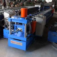 Buy cheap Colored Steel Door Frame Roll Forming Machine 15-20m/min 18 Months Warranty from wholesalers