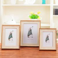 Buy cheap American Style Custom Photo Frame , 7 Color Wooden Wedding Picture Frames from wholesalers
