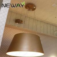 Buy cheap High-Efficiency Modern Circle LED Pendant Lamp Hanging Gold Big Art Deco Copper Brass Circle Led Ring Light Chandelier from wholesalers
