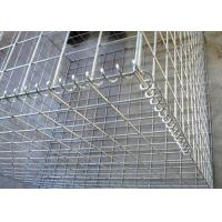Buy cheap Welded Mesh Hesco Hot Dipped Galvanized Gabion Baskets , 1M x1 Mx0.5m Gabion Retaining Wall from wholesalers