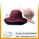 Buy cheap 2015 large brim hat ladies formal hats wide brim sun visor hat from wholesalers
