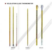 Buy cheap 6, 12 Spirit Solid - Stem Liquid Glass Thermometer For Chemical Industry from wholesalers