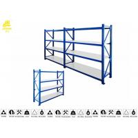 Buy cheap Stable Heavy Duty Warehouse Racking Shelving / Industrial Racks And Shelving 0.6mm from wholesalers